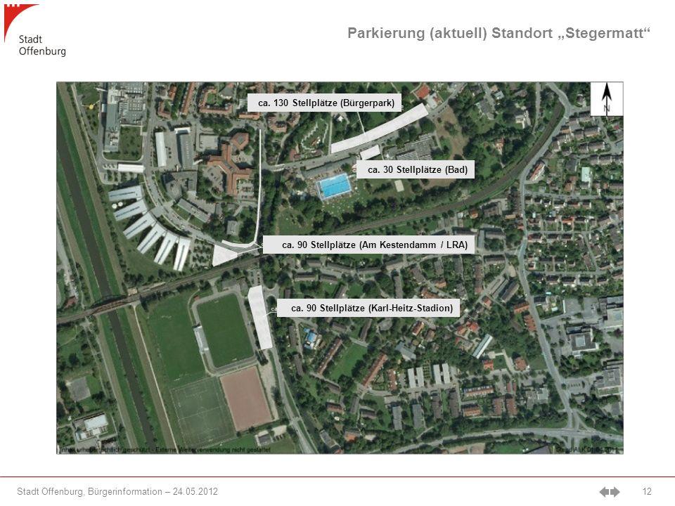 Stadt Offenburg, Bürgerinformation – 24.05.2012 12 ca.