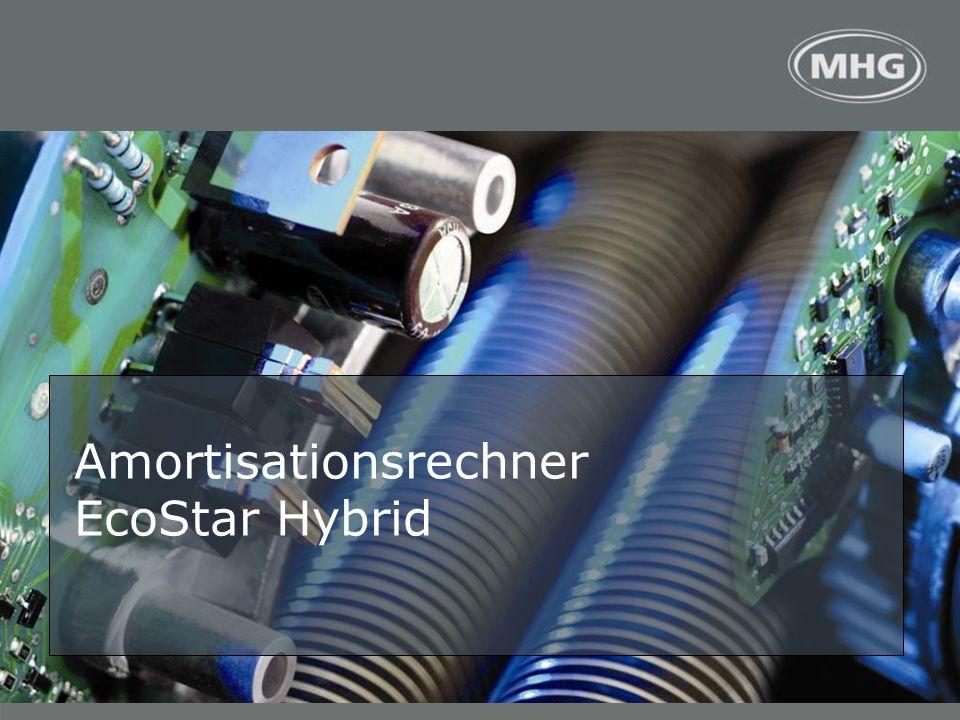 <> Amortisationsrechner EcoStar Hybrid