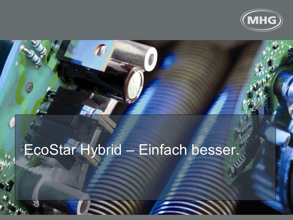 <> EcoStar Hybrid – Einfach besser.
