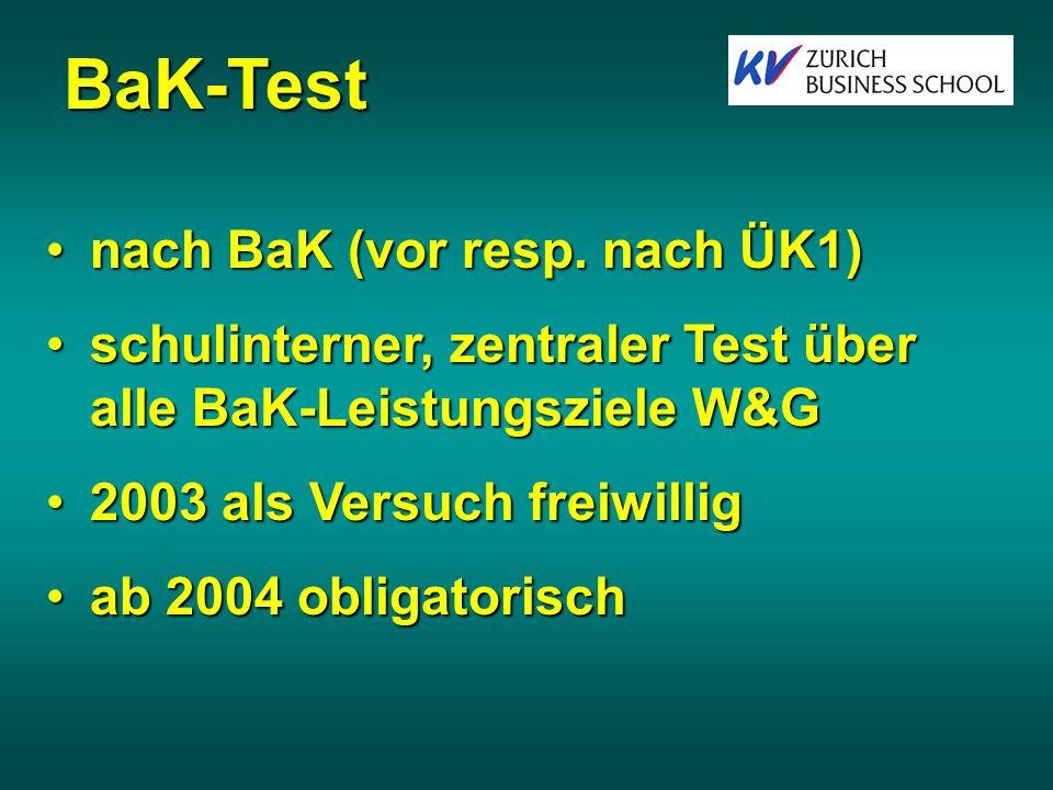 BaK-Test nach BaK (vor resp.nach ÜK1)nach BaK (vor resp.