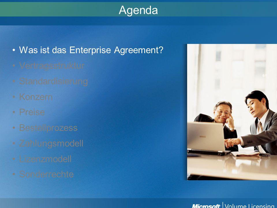 Was ist ein Enterprise Agreement.