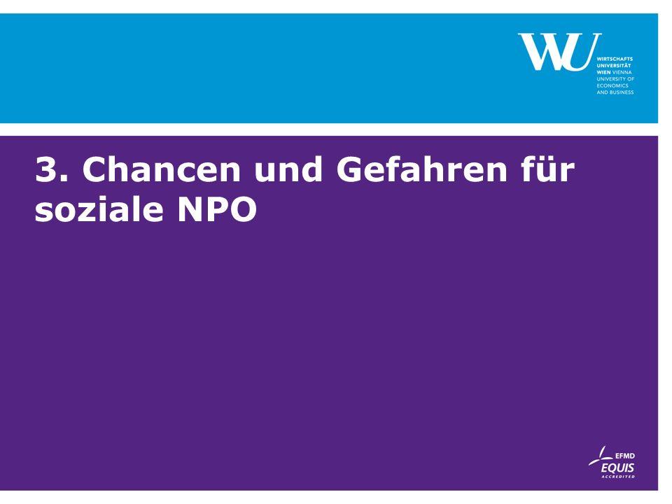 3. Chancen und Gefahren für soziale NPO