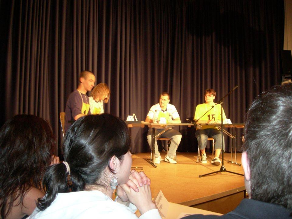 Debattieren Debatte –Einführung –Eröffnungsrunde –Freie Aussprache –Schlussrunde –Training Streitfragen bestimmen Argumente sammeln –Pro-Contra-Ping Pong Eröffnungsrunden –Gliederung –Skills