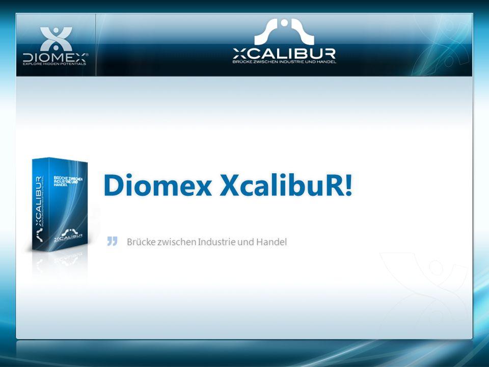 Diomex XcalibuR!Diomex XcalibuR! Brücke zwischen Industrie und HandelBrücke zwischen Industrie und Handel