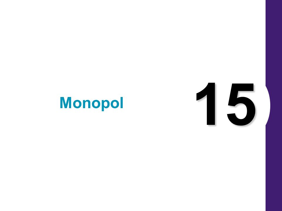 15 Monopol