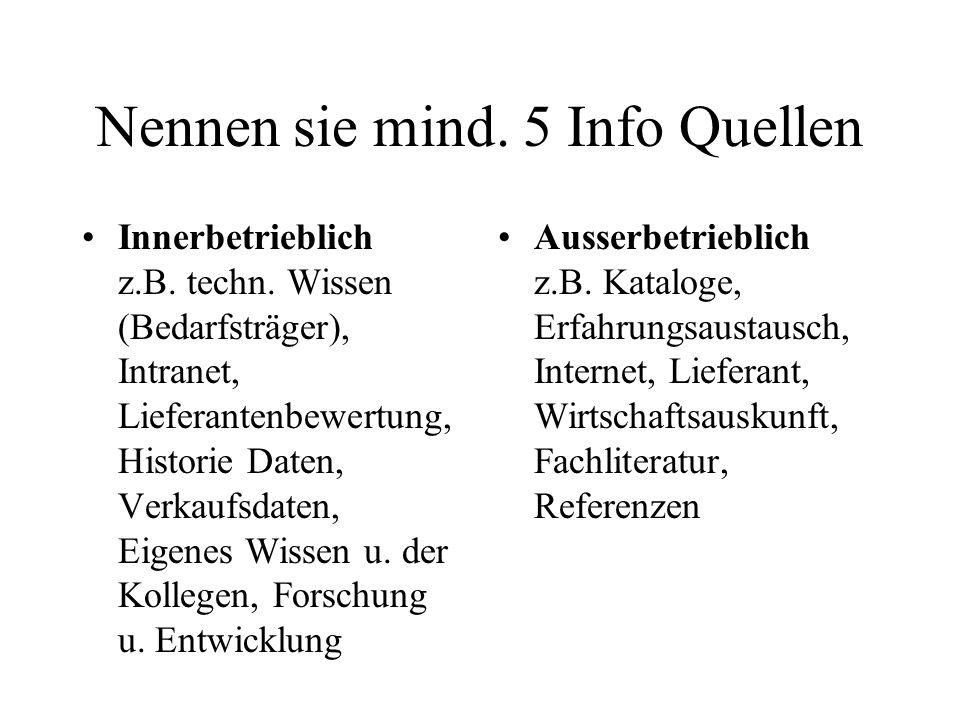 Info-Quelle Messen u.