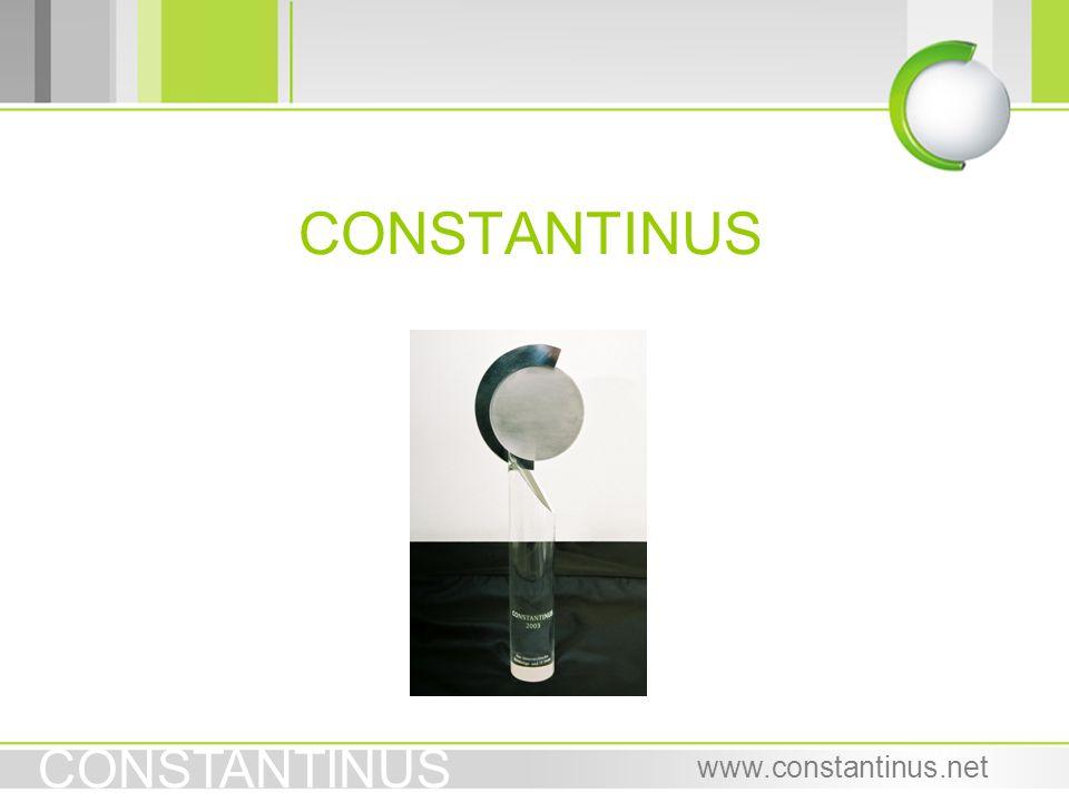 CONSTANTINUS www.constantinus.net CONSTANTINUS