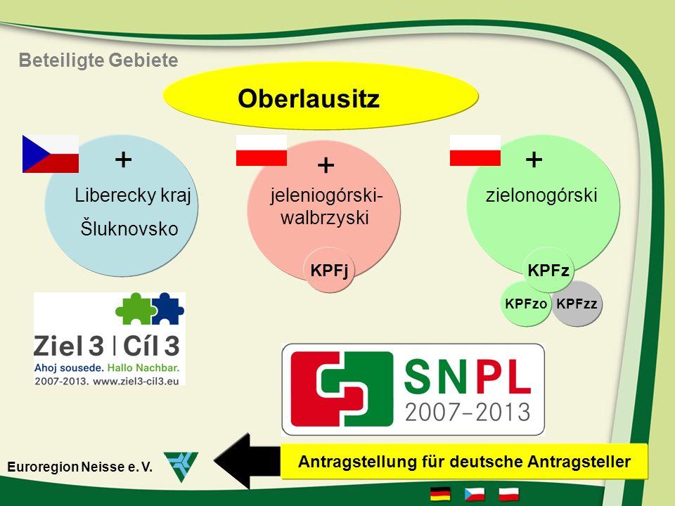 sächsische Oberlausitz zielonogórski jeleniogórski wałbrzyski Sluknovsko Liberecky Kraj Euroregion Neisse e.