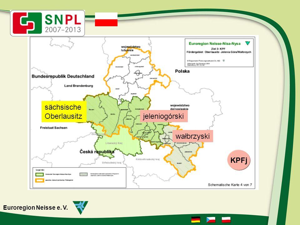 Euroregion Neisse e. V. zielonogórski Neues Fördergebiet KPFz sächsische Oberlausitz