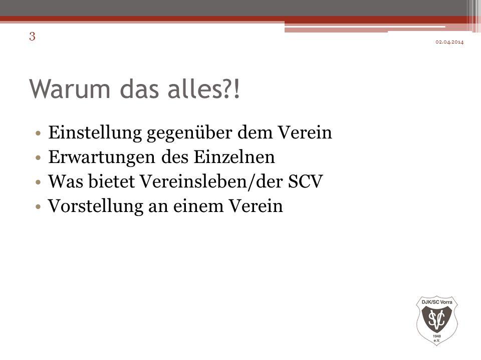 Fragen Rückblick Ausblick 02.04.2014 14 Danke für die Aufmerksamkeit!