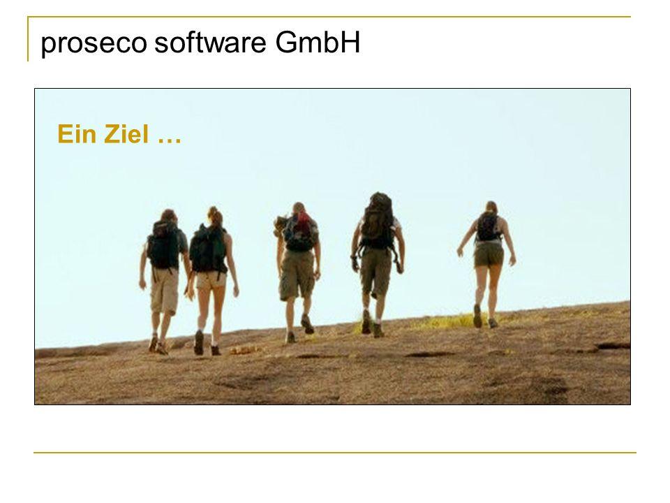 proseco software GmbH Ein Ziel …