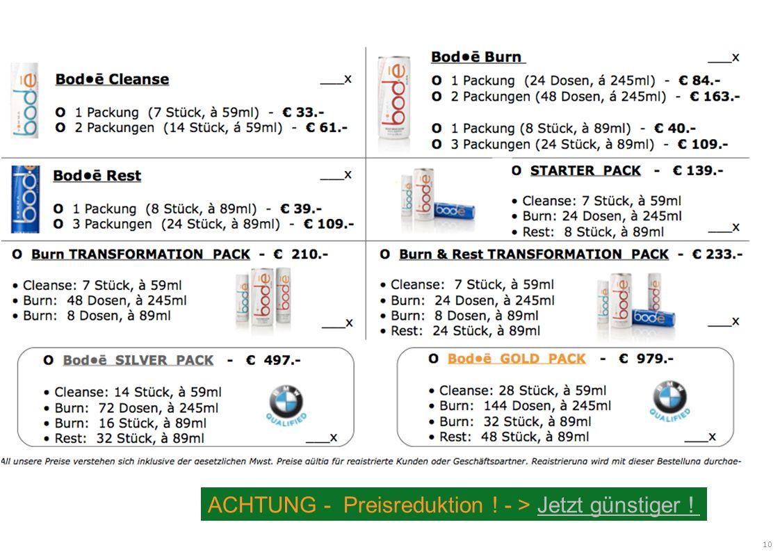 10 ACHTUNG - Preisreduktion ! - > Jetzt günstiger !Jetzt günstiger !