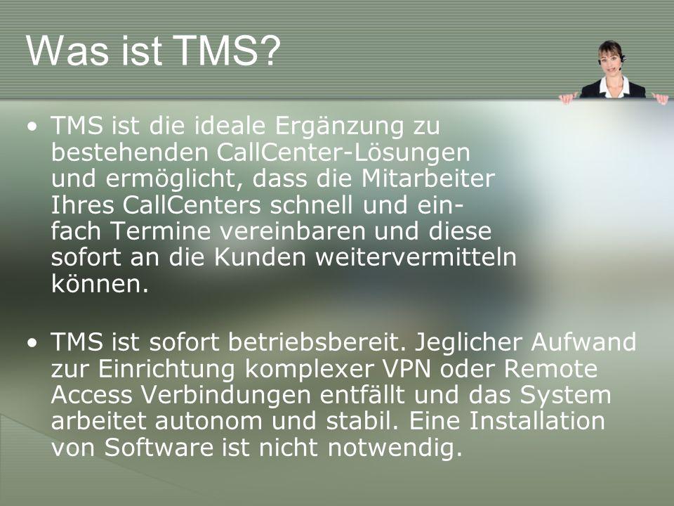 Was ist TMS.Dies alles ist möglich, weil: TMSvollständig webbasiert ist.