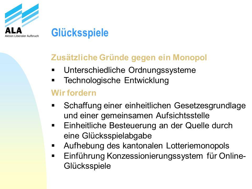 Impressum Aktion Liberaler Aufbruch Postfach 3252 CH-8404 Winterthur www.liberaleraufbruch.ch Tel.