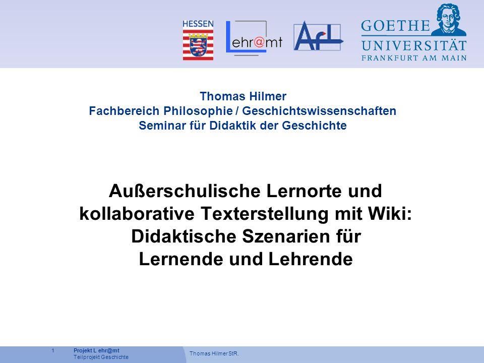 Thomas Hilmer StR.