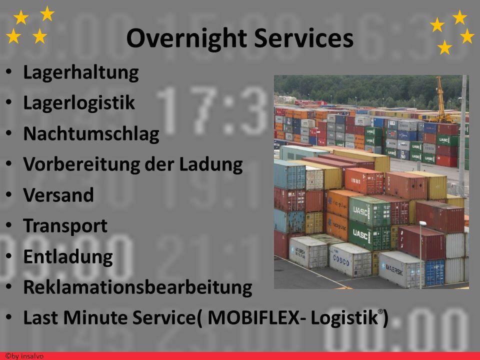 Ablauf Kommissionierung VerpackungVerladungTransport Behandlung bei Reklamationen Inventur ©by insalvo