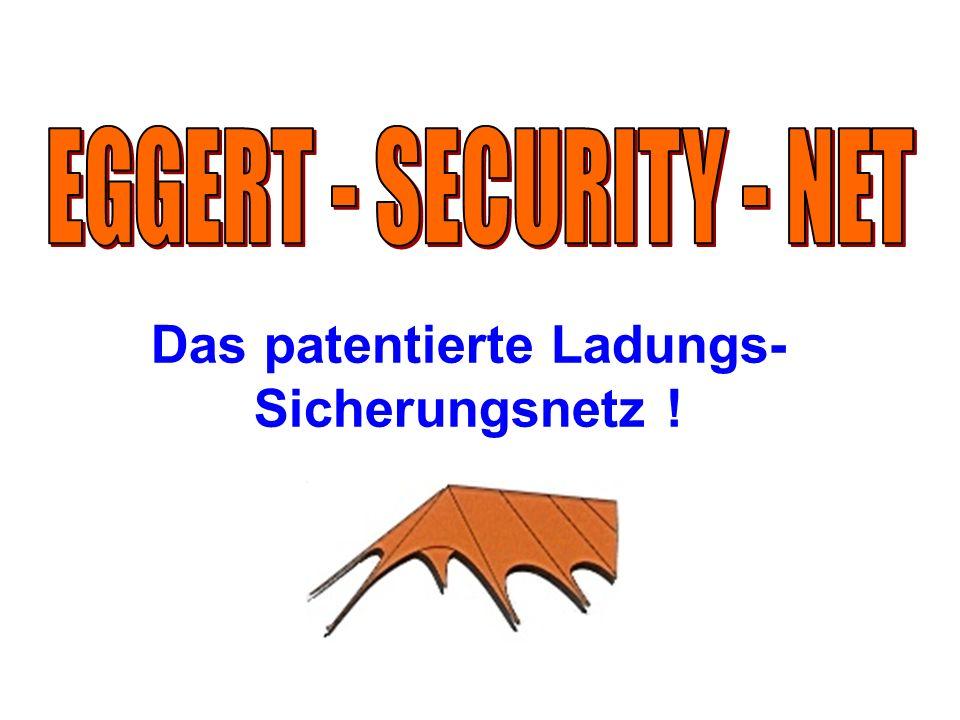 Das patentierte Ladungs- Sicherungsnetz !