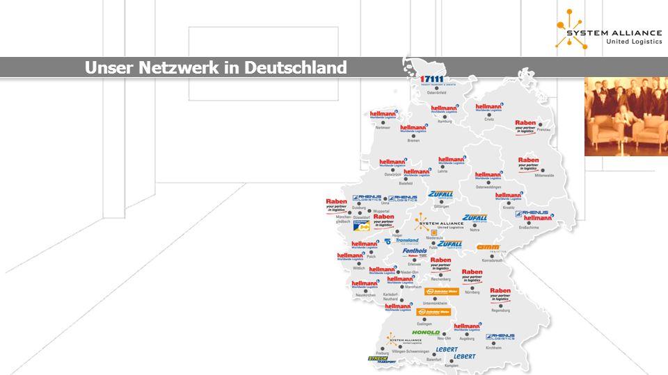 Unser Netzwerk in Europa SYSTEMPLUS Gesellschafter: Starke Partner CH: Streck AG GB: Hellmann Worldwide Logistics Ltd.