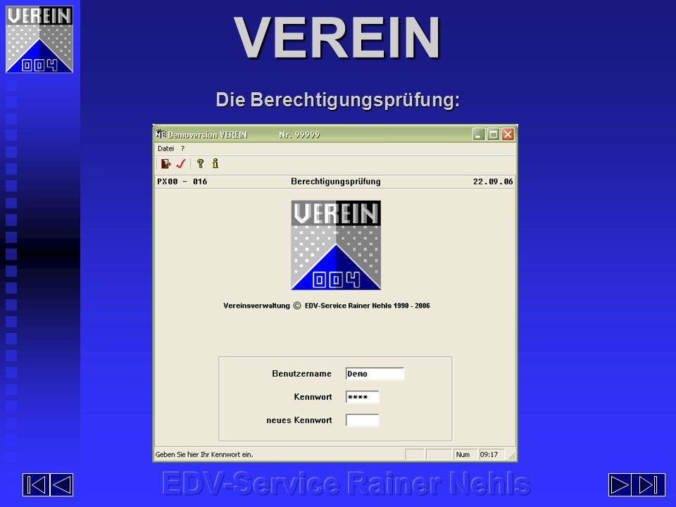 Anzeige bereits erstellter Listen auf dem Bildschirm Ausgabe an den Drucker Ausgabe im HTML-Format Anzeige bereits erstellter Listen auf dem Bildschirm Ausgabe an den Drucker Ausgabe im HTML-Format Die Druckdateiverwaltung: VEREIN