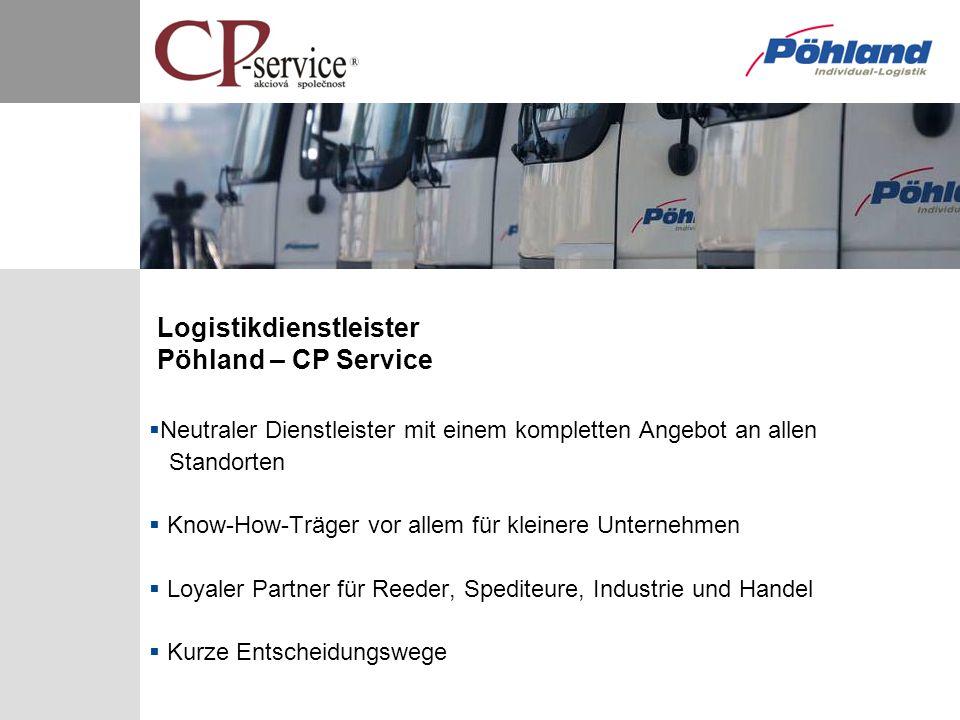 Neutraler Dienstleister mit einem kompletten Angebot an allen Standorten Know-How-Träger vor allem für kleinere Unternehmen Loyaler Partner für Reeder