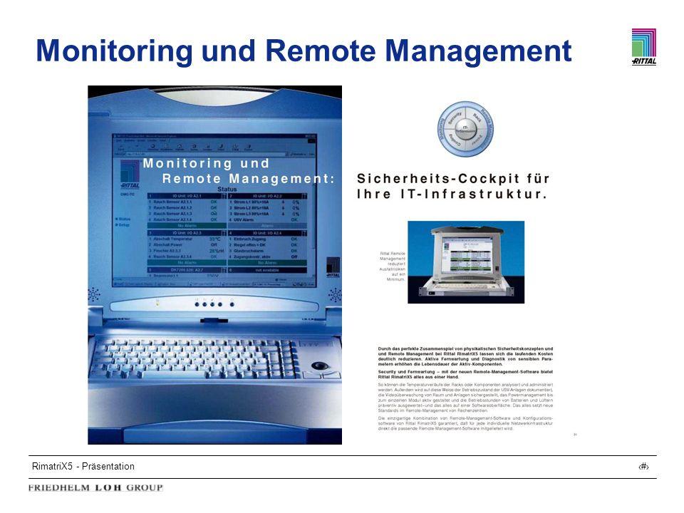 RimatriX5 - Präsentation22 Monitoring und Remote Management
