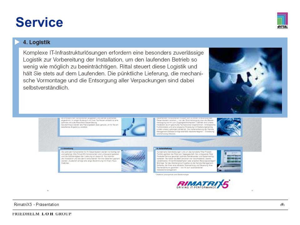 RimatriX5 - Präsentation29 Service