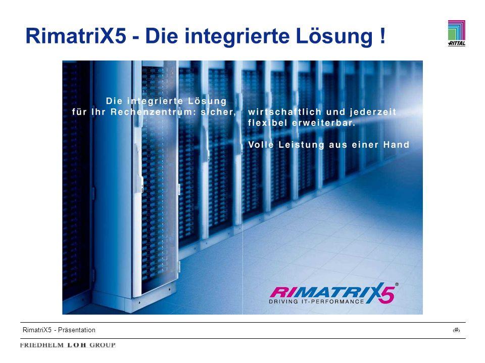RimatriX5 - Präsentation33 RimatriX5 - Die integrierte Lösung !