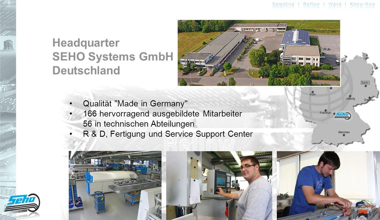 Headquarter SEHO Systems GmbH Deutschland Qualität