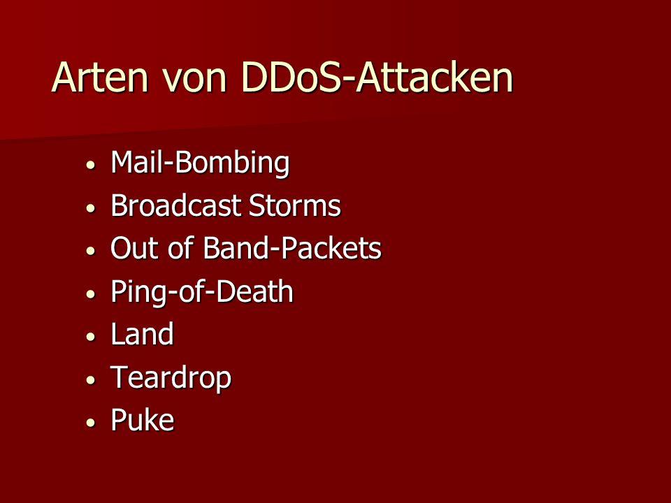 Funktionalität von DDoS-Attacken