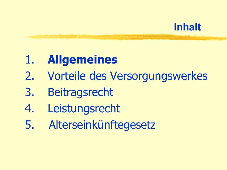 Allgemeines Die Rentenversicherung der Berliner und Brandenburger Apotheker/Pharmazie- praktikanten.
