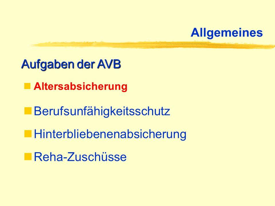 Beitragsrecht Rechtsfolgen der Befreiung von der Deutschen RV Rententräger ist ausschließlich die AVB Befreiung von der Deutschen RV gilt tätig- keits- und nicht personenbezogen Problem: Problem:(vorübergehend) berufsfremde Tätigkeit