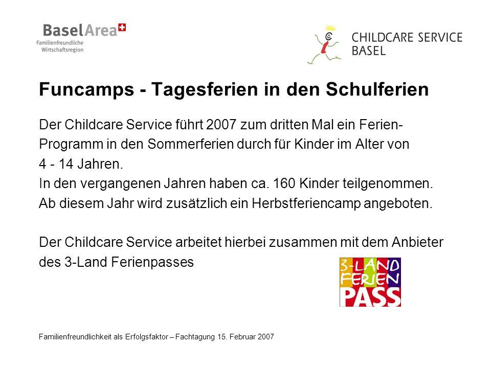 Familienfreundlichkeit als Erfolgsfaktor – Fachtagung 15.