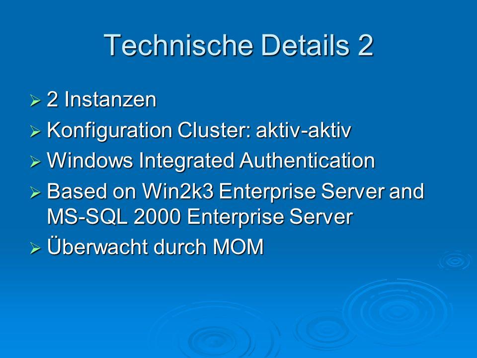 Client Connections ODBC ODBC OLE DB OLE DB Von den BD unterstützte Clienttools: Query Analyzer Enterprise Manager Acces 2003 (.adp) demo