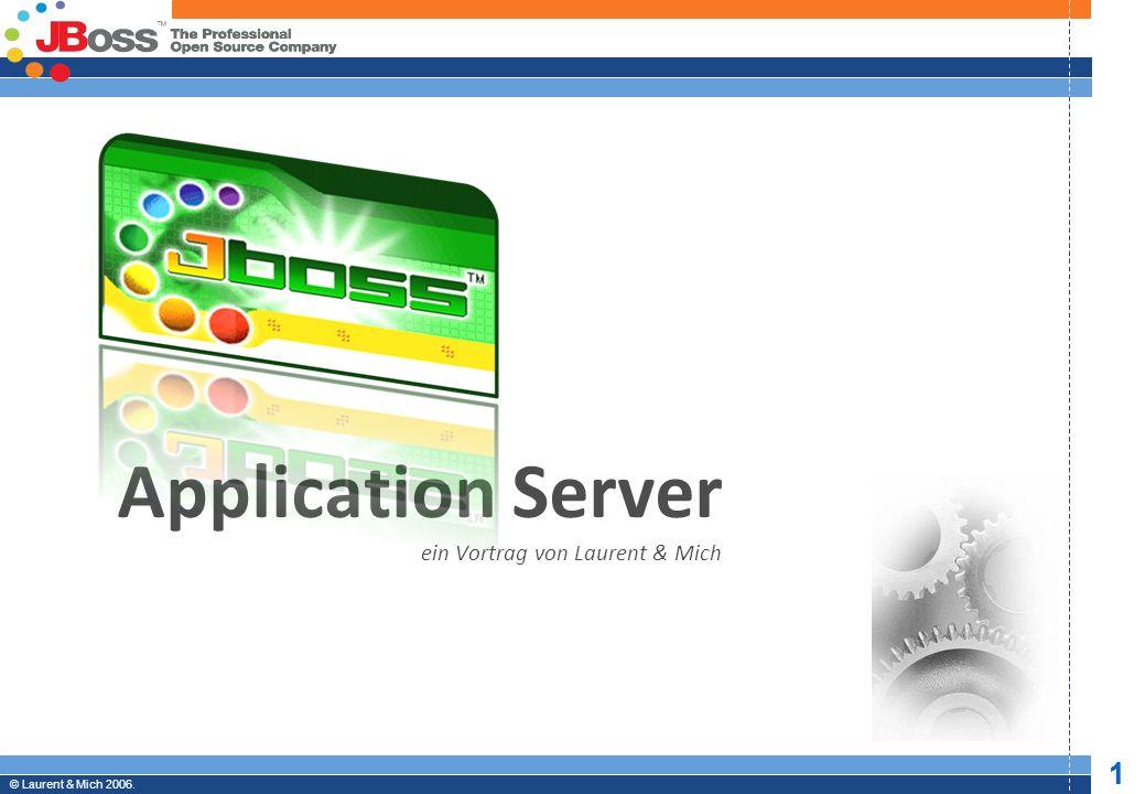 © JBoss, Inc.2003-2005. 2 Professional Open Source © Laurent & Mich 2006.