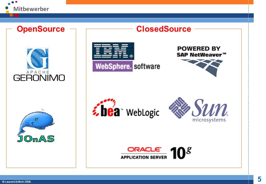 © JBoss, Inc.2003-2005. 6 Professional Open Source © Laurent & Mich 2006.