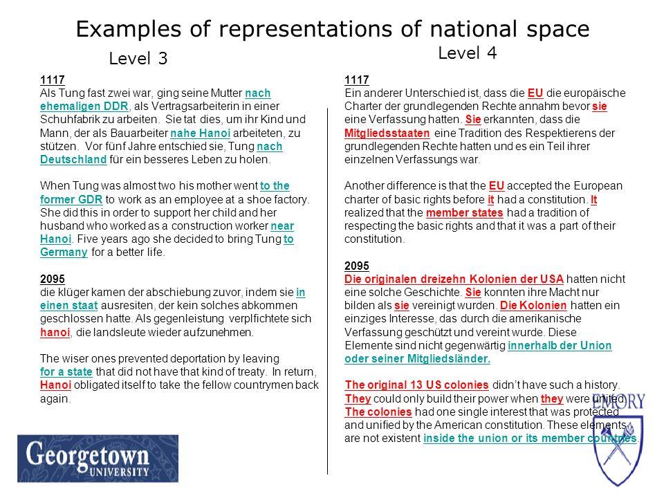 Examples of representations of national space 1117 Als Tung fast zwei war, ging seine Mutter nach ehemaligen DDR, als Vertragsarbeiterin in einer Schu
