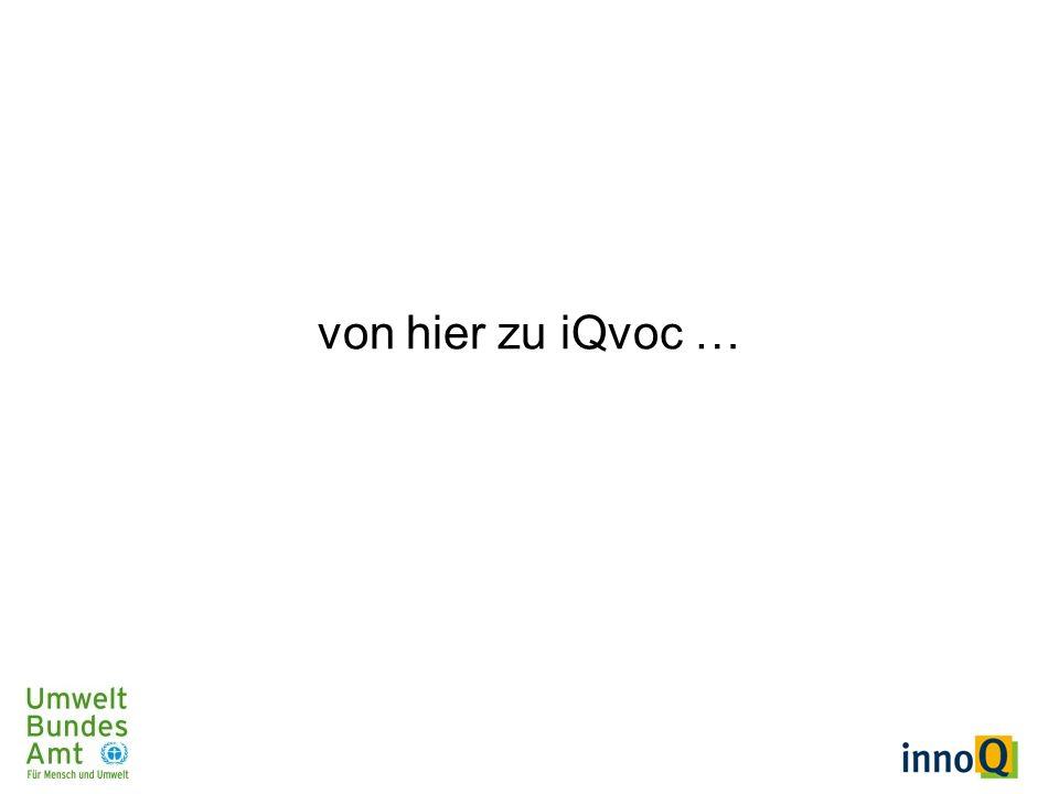 von hier zu iQvoc …