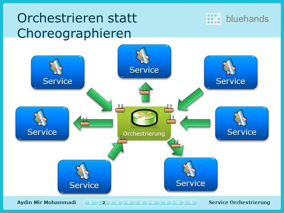 Service Orchestrierung bluehands Demo 547632189