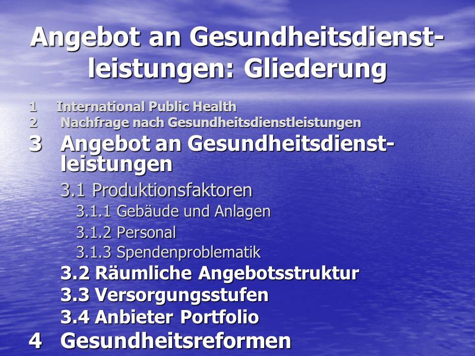 4.1 Kosten Cost-of-IllnessCost-of-Illness –Inhalt: Alle ökonomisch erfassbaren negativen Auswirkungen von Krankheit und Tod –Konzept: Rice (1966); heute Standard –Beispiele: Cost-of-Illness Studien Xie (1996): Alkohol und Drogen in OntarioXie (1996): Alkohol und Drogen in Ontario Henke (1997): Krankheiten in DeutschlandHenke (1997): Krankheiten in Deutschland Welte, König, Leidl (2000): Zigaretten-Konsum in DeutschlandWelte, König, Leidl (2000): Zigaretten-Konsum in Deutschland
