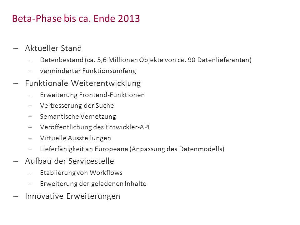 18 Das Europeana Data Model im Kontext der Deutschen Digitalen Bibliothek KIM-WS Mannheim 25.März 2013 ASC (Augmented SIP Creator) 1.