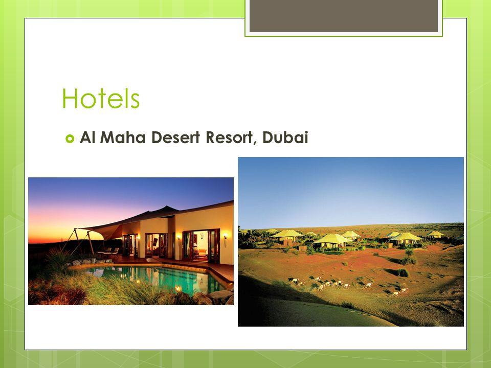 Hotels Al Maha Desert Resort, Dubai