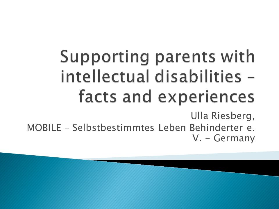 Ulla Riesberg, MOBILE – Selbstbestimmtes Leben Behinderter e. V. - Germany
