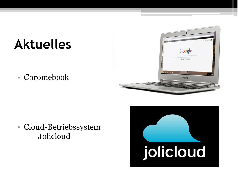 Aktuelles Chromebook Cloud-Betriebssystem Jolicloud