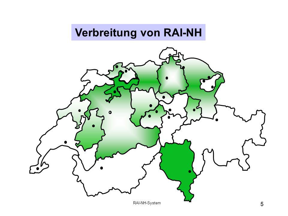 RAI-NH-System 5 Verbreitung von RAI-NH