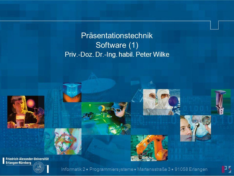 Präsentationstechnik © P.