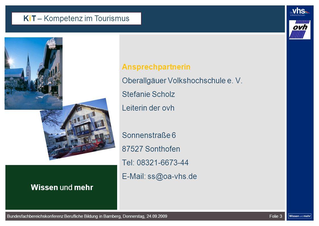 Folie 3 Ansprechpartnerin Oberallgäuer Volkshochschule e.