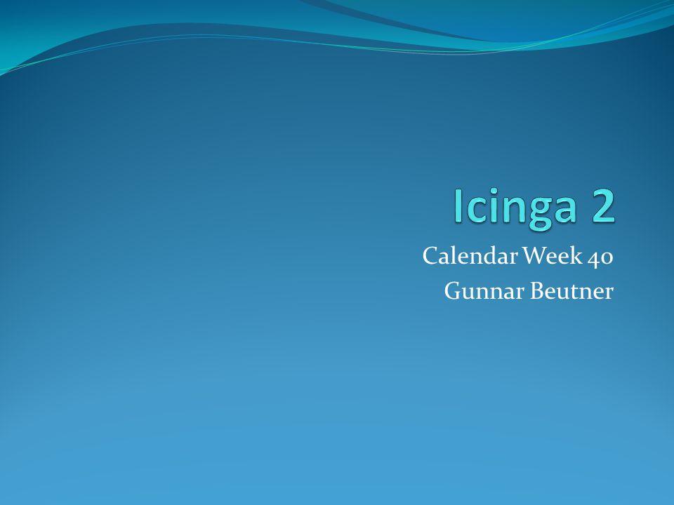 Calendar Week 40 Gunnar Beutner