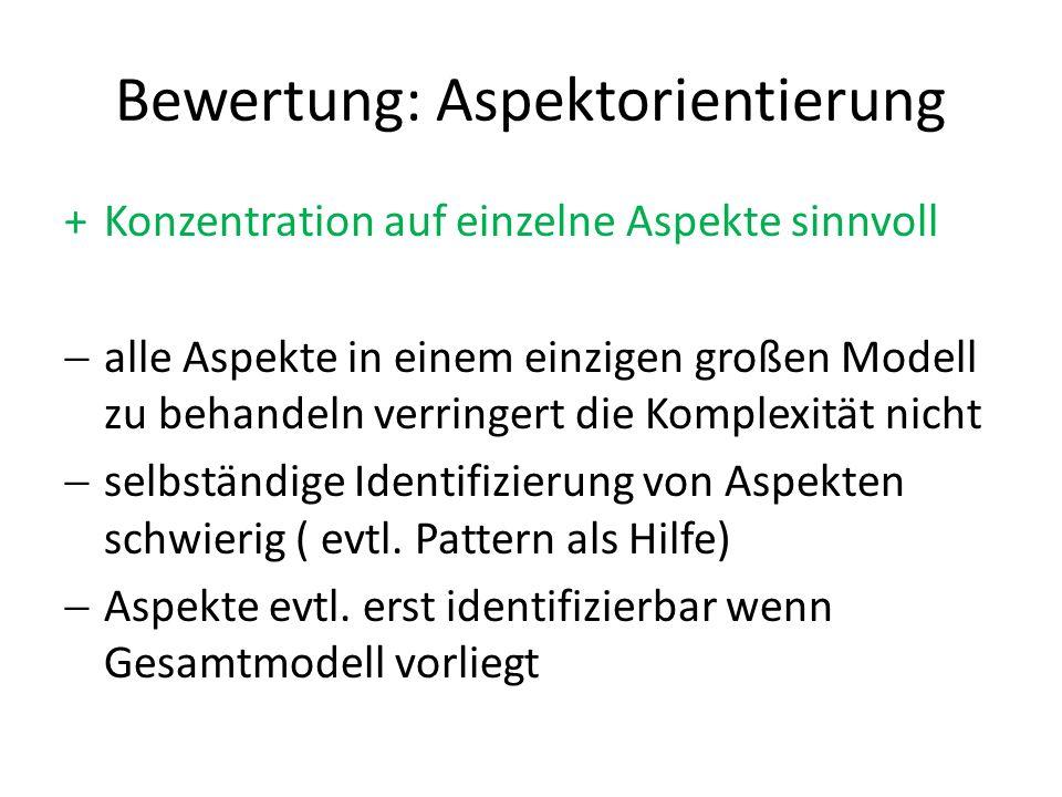 Modellierungsaspekte SD Modules – Actor Module – Dependency Module