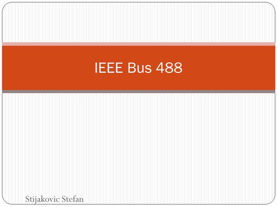 Inhalt Definition Bussignale IEEE Bus Leitungen Data Byte Transfer Timing