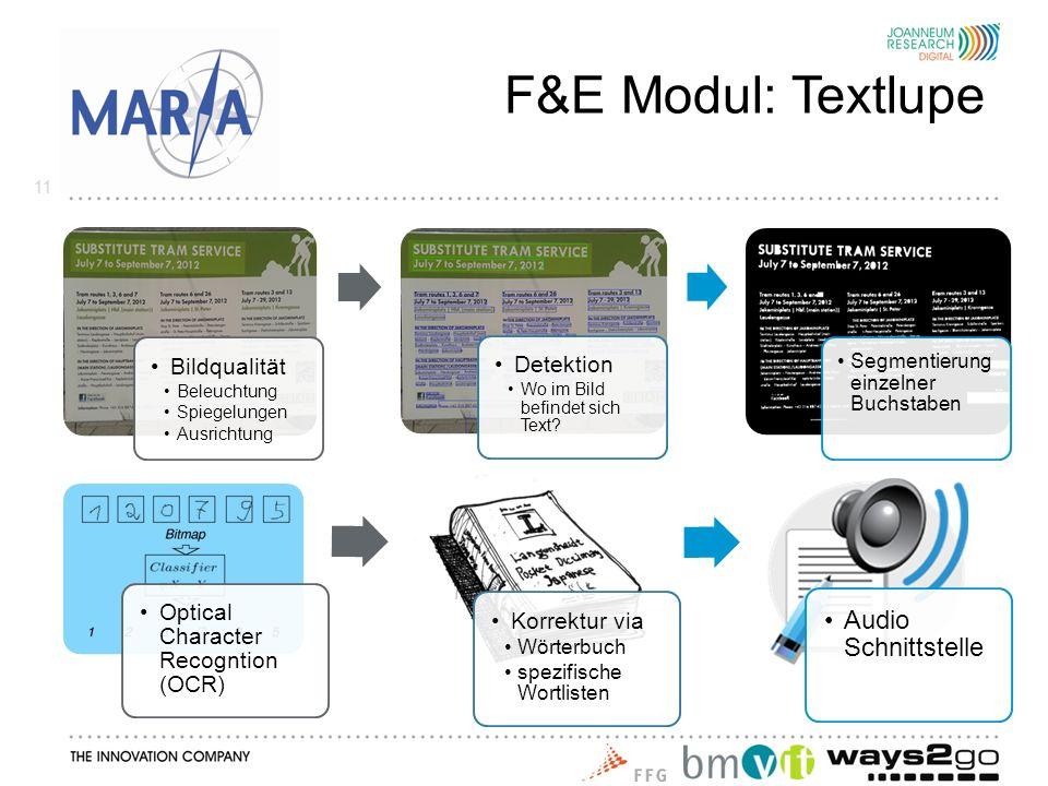 F&E Modul: Textlupe 11